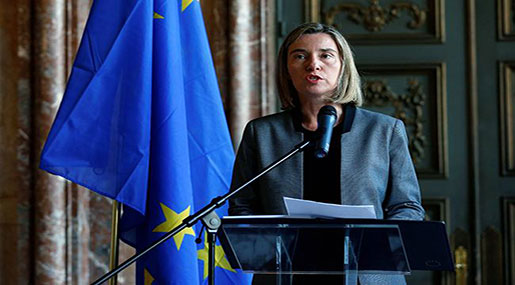 Mogherini: No Military Solution to Syria Crisis