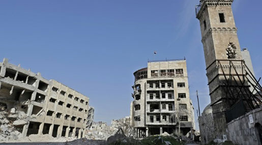Aleppo Bomb Blast Leaves Dozens Martyred, Injured