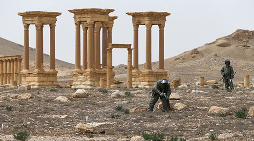 Russia Disclaims Reports on Lowering Palmyra Offensive Toll