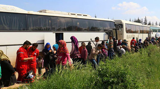 Evacuations Continue after Syria's Deadly Bombing