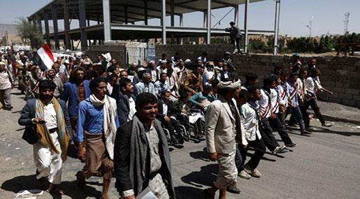 Yemenis March on Key Port, Demand Humanitarian Zone