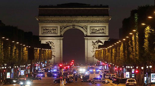 Champs Elysees Terrorist Attack: Police Officer Killed, 2 Seriously Injured