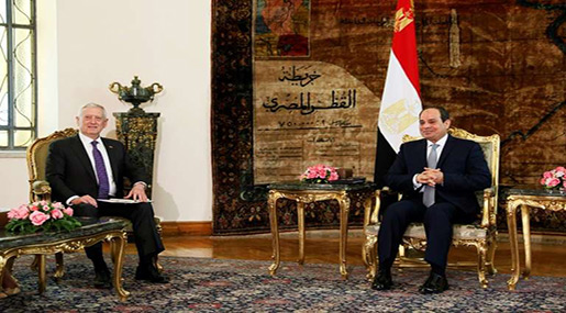 US Seeks to Boost Military Ties with Egypt