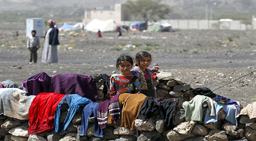 Humanitarian Catastrophe Looms in Yemen with 3.3+ Mln Displaced Since Crisis Began