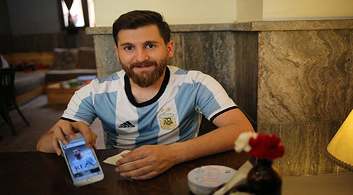 Lionel Messi's Iranian Version?