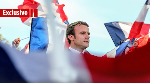Emmanuel Macron & the Friends He Made on the Way to Elysée Palace