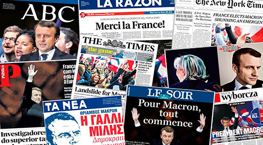 How Did the World's Media React to Macron's Victory?