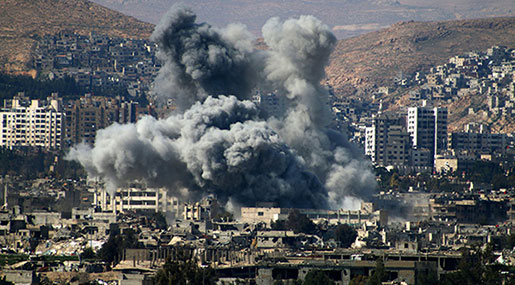Syrian Special Forces Blow up Nusra Tunnels in Damascus Suburb