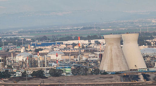 'Israeli' Website 'nrg': Haifa Air Pollution Increased Due to Lack of Ammonia after Sayyed Nasrallah's Threats