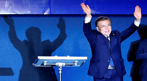 South Korea Elects President Moon Jae-in