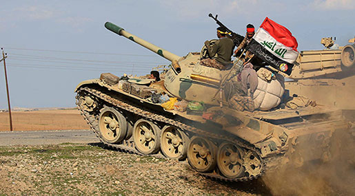 Iraqi Forces Liberate More Areas in Northwest from Daesh