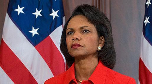 Condoleezza Rice: US Invaded Iraq Not to Bring Democracy