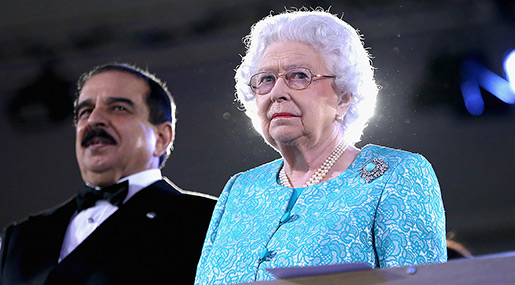 Rights Groups to Britain's Queen: Stop Supporting Hamad, Protest Bahraini Use of Torture, Executions