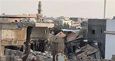 11 Days on Al-Awamyieh Siege: Saudi Armored Vehicle Explodes