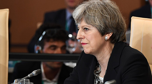 UK PM Calls on G7 Leaders to Fight Online Extremism