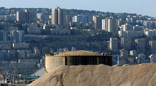 «Israeli» Ammonia Tank Threatened By Hezbollah Ordered Emptied!