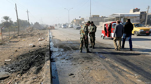 At Least 14 Killed in Bomb Attack in Iraqi Anbar