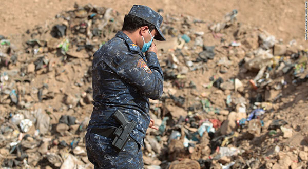 Iraqi Police Find Mass Grave Containing 60 Civilians W Mosul