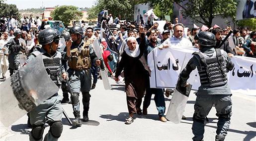 Kabul Rally: Afghan Police Kills 8 Protesters