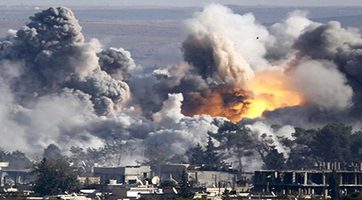 US Strikes in Iraq, Syria Killed 484 Civilians