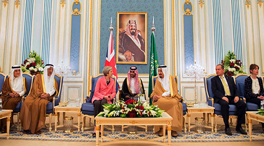 Saudi Arabia Lavishes Conservative UK Officials with Gifts, Travel, & Plum Consultancies