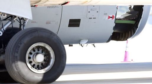 Plane Lands Safely in Sydney with Hole in Engine!