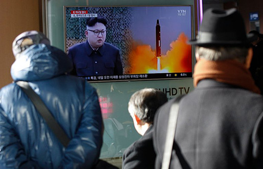 N Korea Taunts US with ICBM Launch Promise