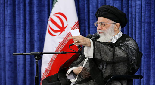 Imam Khamenei: Don't Trust US, It's behind Middle East Insecurity