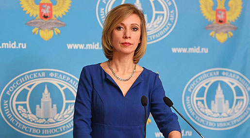 Zakharova: US' 'Provocative Claims' About Syria Chemical Attack Directed Against Russia