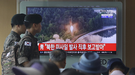 N Korea Launches Possibly Most Successful Missile Test Yet