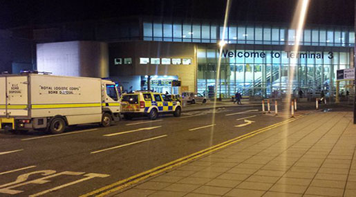 Manchester Airport: Possible Threat Leads to Evacuation of Terminal 3