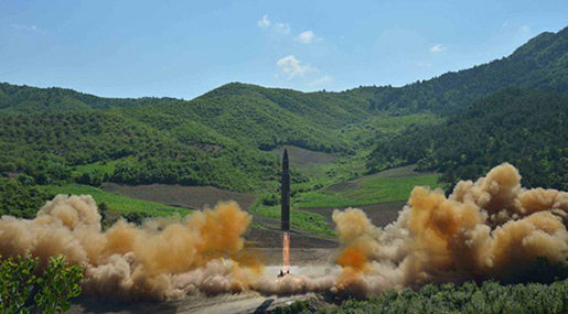 US Confirms ICBM Test, N Korea Vows More «Gift Packages» of Missile Tests