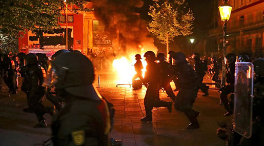 G20: Dozens Injured As Protesters Clash with Hamburg Police 'Like Never Before'