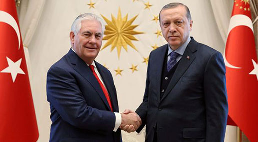 Tillerson Meets Turkish Officials amid Tensions with US