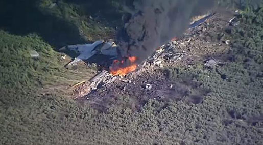 US Military Jet Crashes in Mississippi, 16 Dead