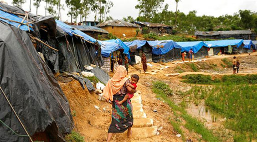UN Warns: 80K+ Rohingya Kids 'Wasting' From Hunger in Myanmar