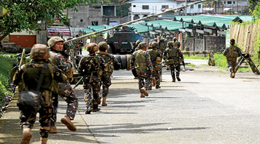 Marawi Siege: Philippines' Duterte Asks Congress to Extend Martial Law