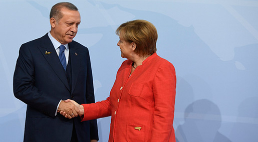 Report: Berlin Freezes Arms Shipments to Turkey