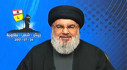 Sayyed Nasrallah Declares Major Victory in Arsal Battle, Offers It to All Lebanese