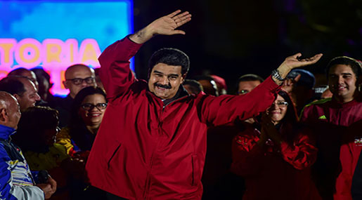 Maduro Wins Election, Opposition Vows Protests