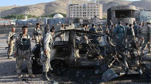 Afghanistan: Blast Targets Security Forces Convoy near Kandahar
