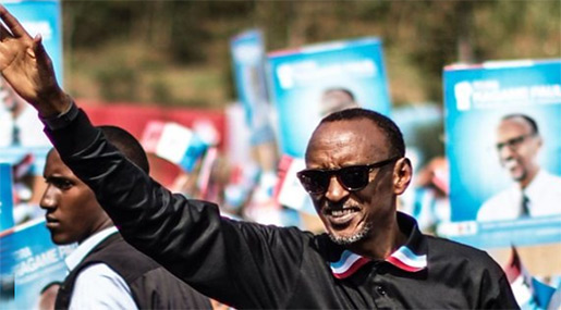 Rwandans Vote in Presidential Election