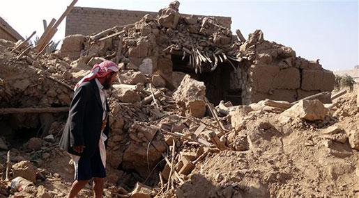 Saudi Warplanes Bomb NW Yemen, Kill 9 Civilians
