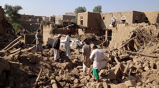 UN Slams 'Disregard' For Civilians after Saudi Yemen Raid