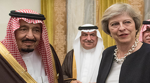 Saudi Arabia is to Execute 14 Young Men for Protesting, Where is Theresa May's Condemnation?