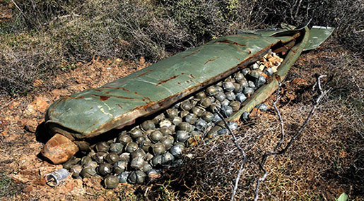'Israeli' Army Buying Local Cannons to Avoid Cluster Bombs International Ban