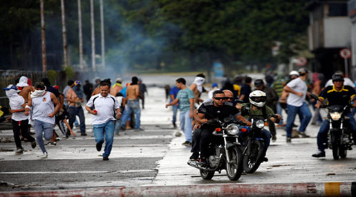 Venezuela: Military Base Attackers Funded From Abroad