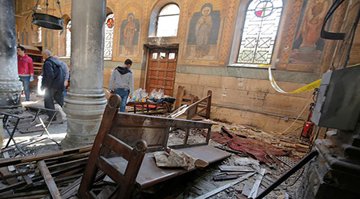 Egypt Shootout: Extremists behind Copt Attacks Killed