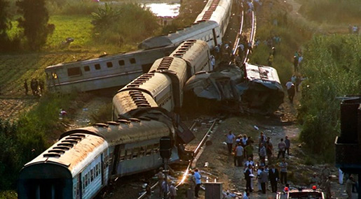 Egypt Train Disaster: 41 Killed, 123 Injured