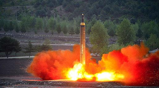 Pentagon Warns Of War, N Korea Holds 'Guam Strike' Briefing